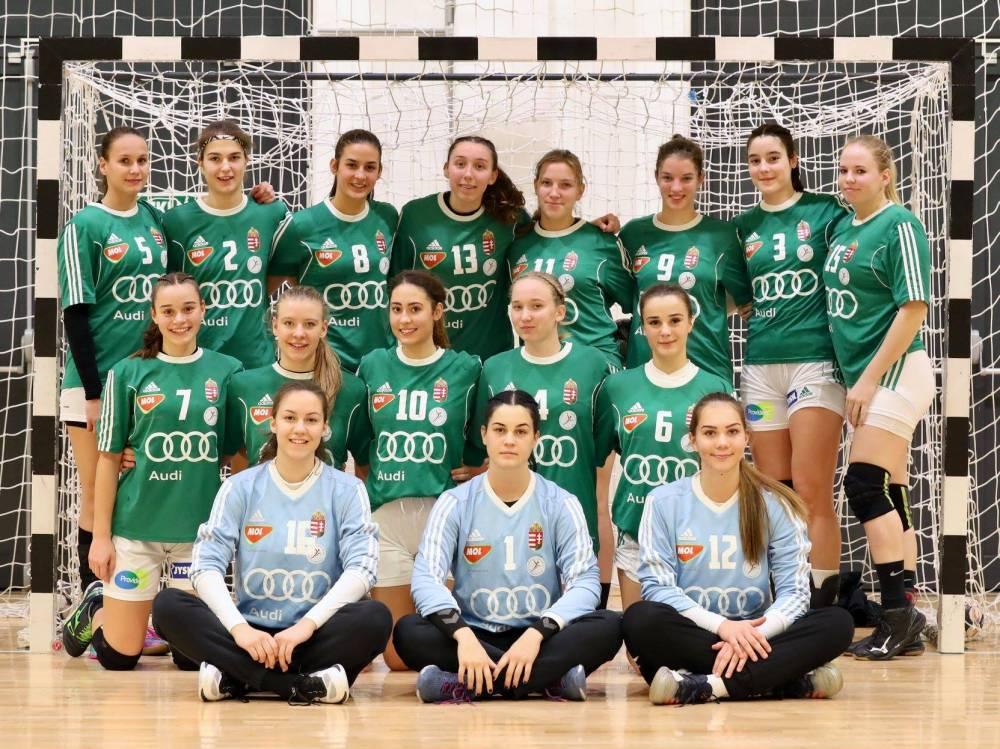 SKC lányok a magyar ifi válogatottban