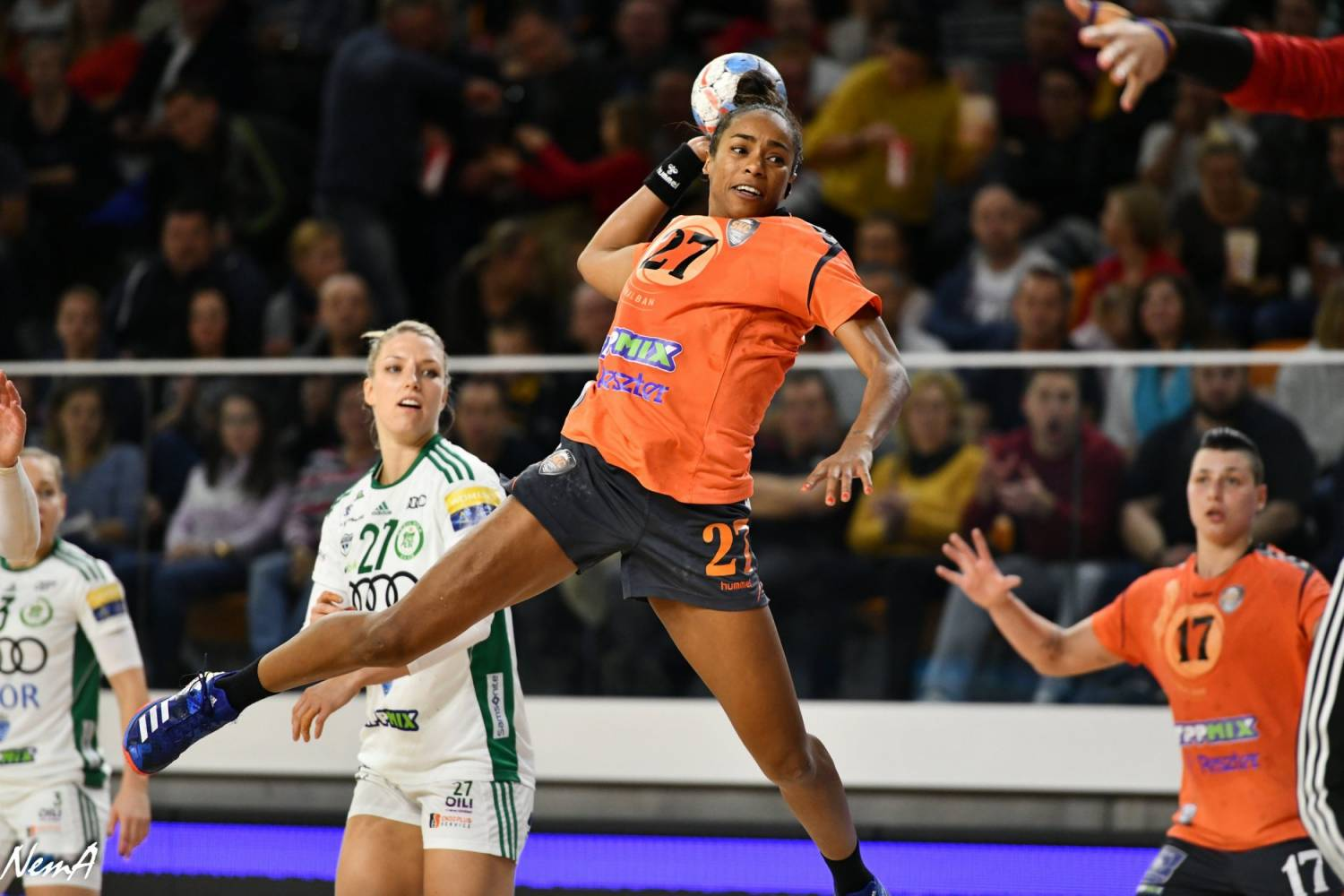 Estelle Nze Minko leaves at the end of the season