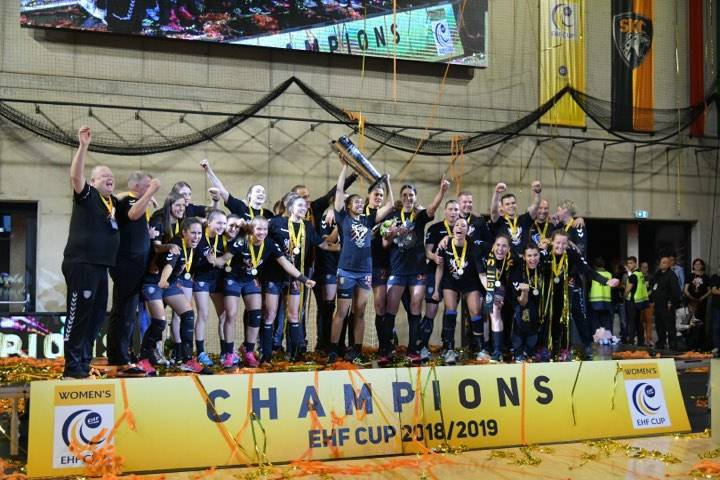 Siófok win Women's EHF Cup for club's first title