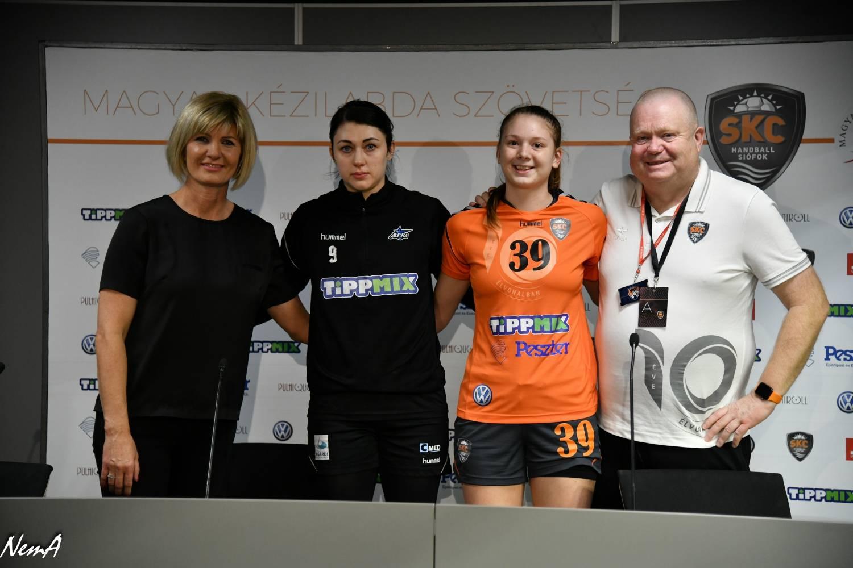 Siófok KC - Alba Fehérvár KC press conference | gallery