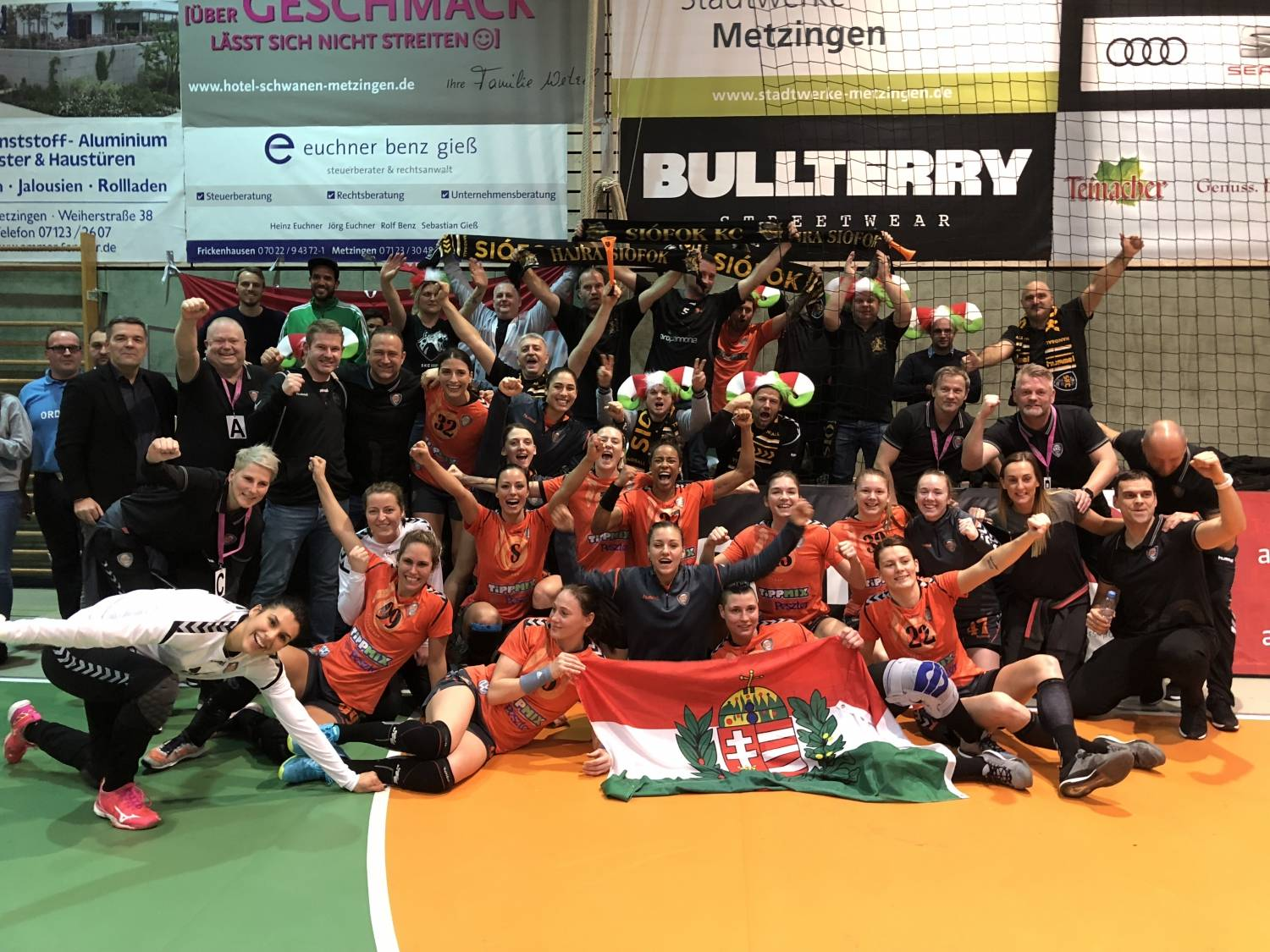 Siófok claimed second straight victories in EHF