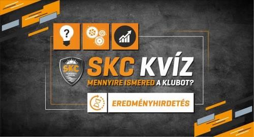 SKC Kvíz: Mutatjuk a végeredményt, és a nyerteseket!
